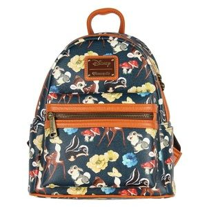 Loungefly Bambi and Friends Mini Backpack